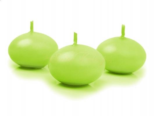 Plovoucí svíčka - zelená