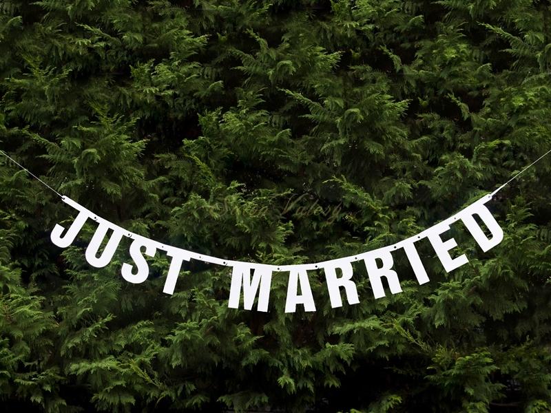 Girlanda -Just married