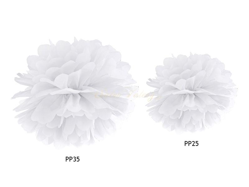 Pompon - bílý