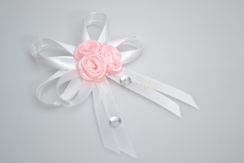 Vývazek pro svědky růžičky - růžová