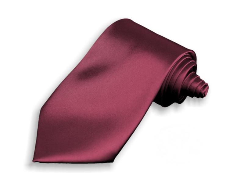 Kravata - vínová