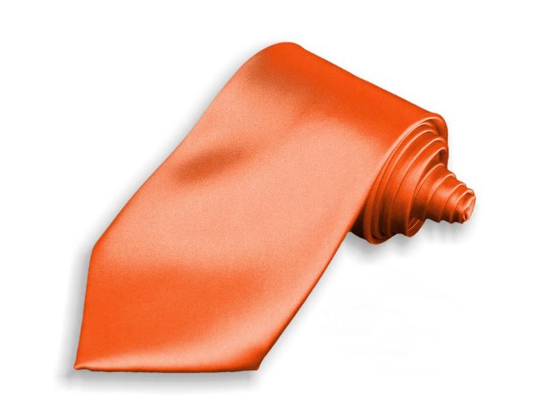 Kravata - oranžová