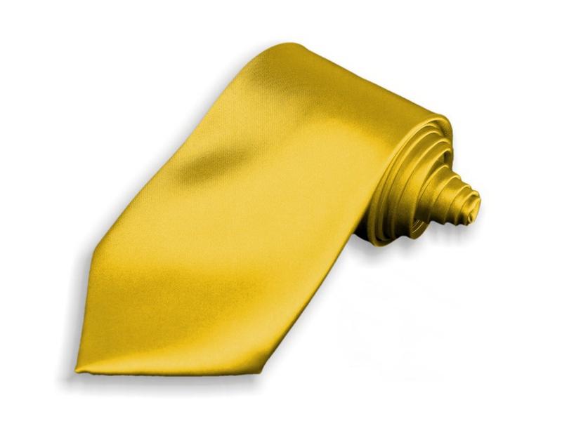 Kravata - zlatá