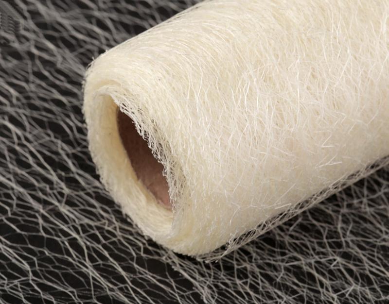 Organza pavučinka - krémová