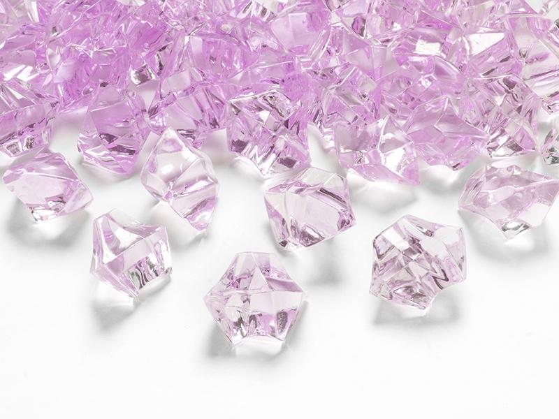 Krystaly růžové