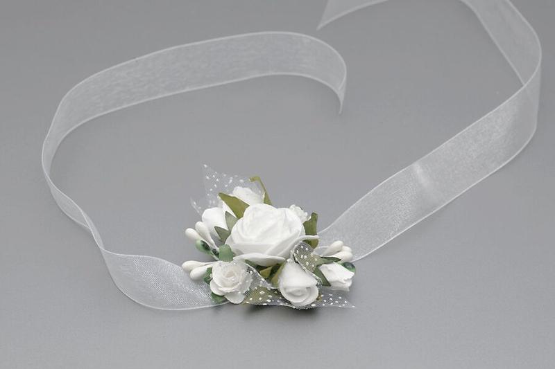 Květinový náramek na ruku VR 013
