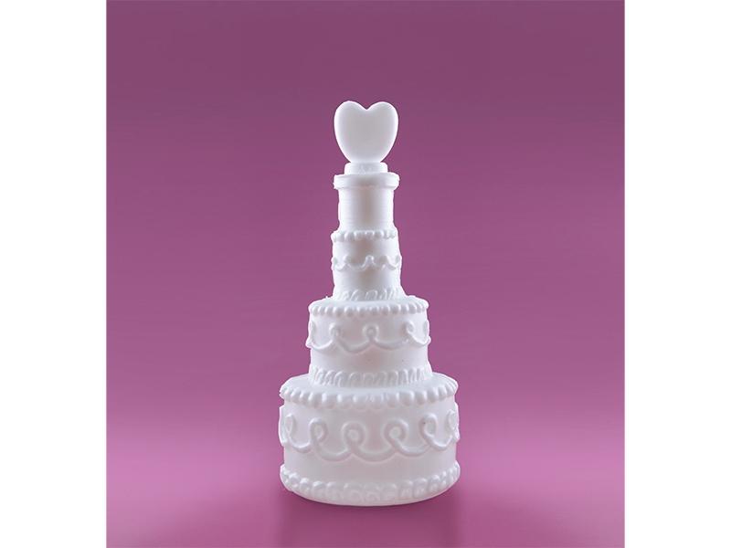 Svatební bublifuk se srdíčkem
