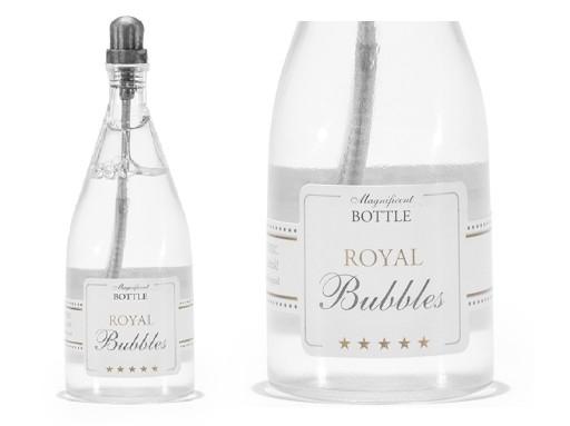 Svatební bublifuk ve tvaru láhve