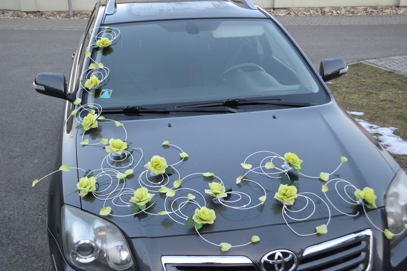 Dekorační sada na auto - S7 zelená