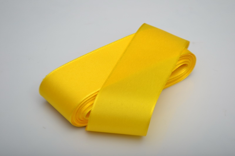 Taftová stuha 40 mm x 10 m  - žlutá
