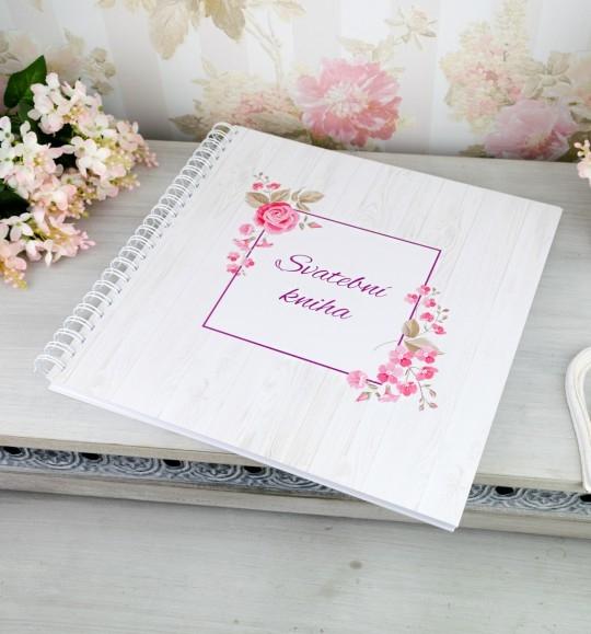 Svatební kniha hostů BOHO - 2090