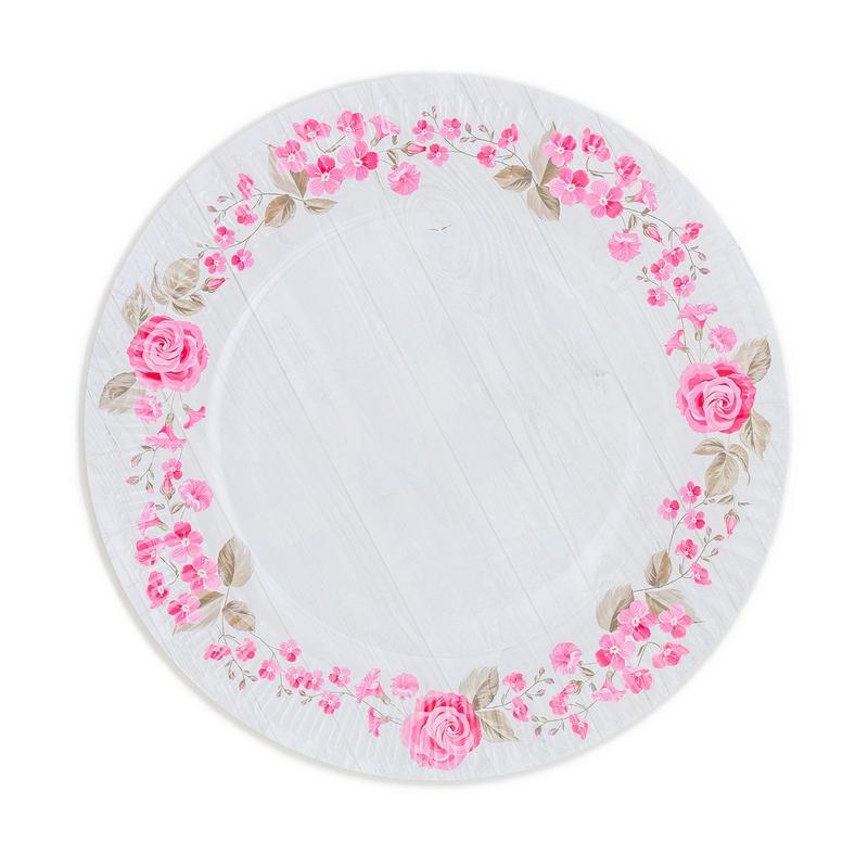 Papírové talíře (8ks) - 2090