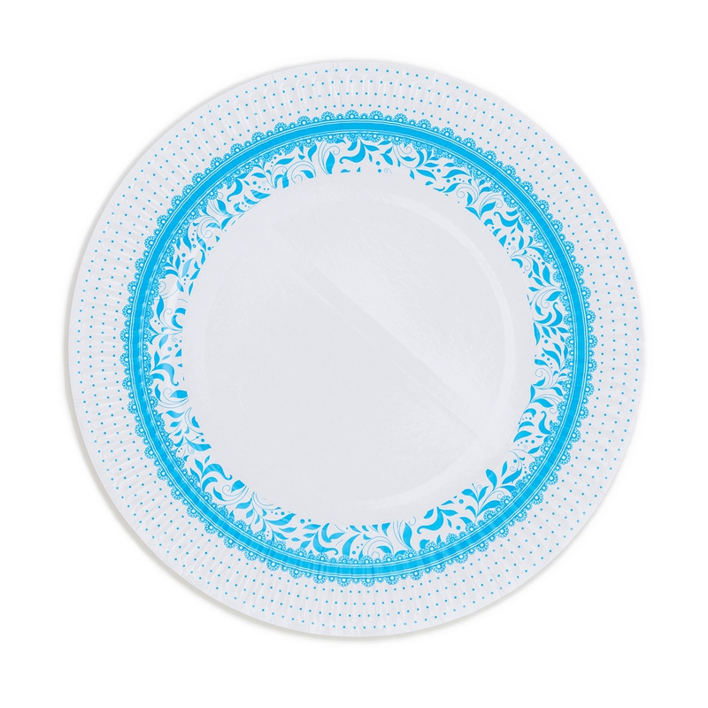 Papírové talíře (8 Ks) - modré
