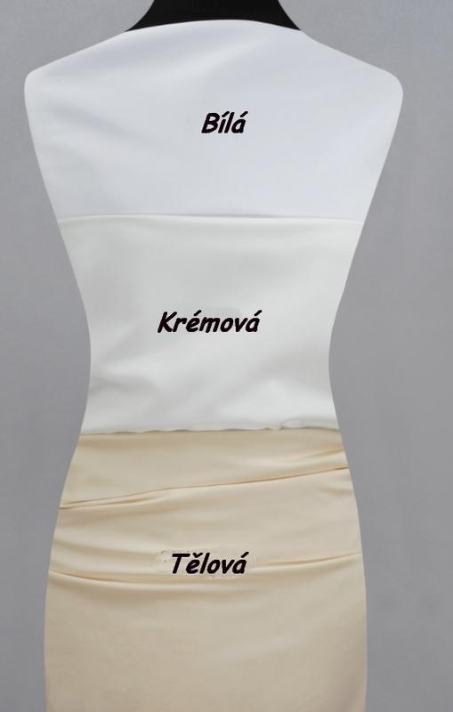 Podšívka do svatebních šatů