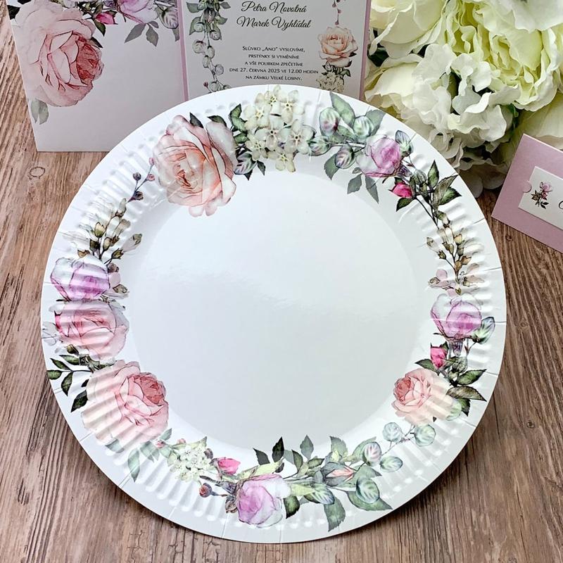 Papírový talíř (8 Ks) - TL01-2134-01