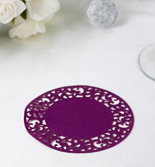 Rozety ve fialové barvě - ROZ109
