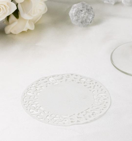 Rozety v bílé barvě - ROZ101