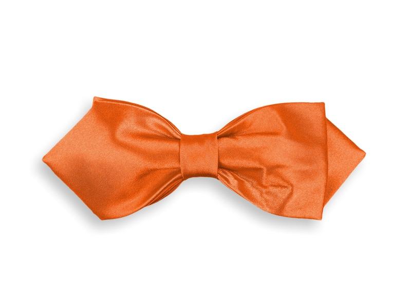 Motýlek dvojitý - oranžový