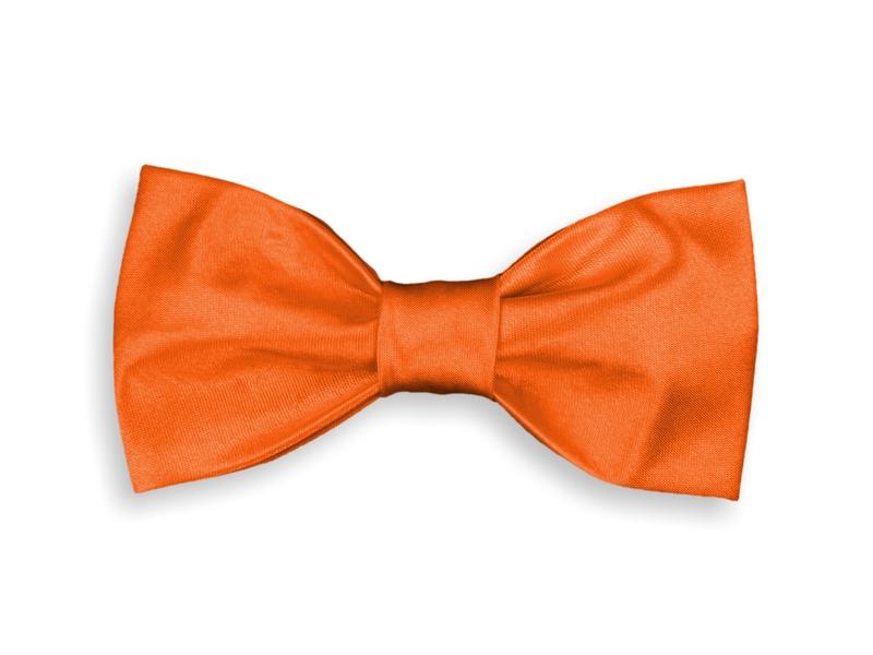Motýlek - oranžový
