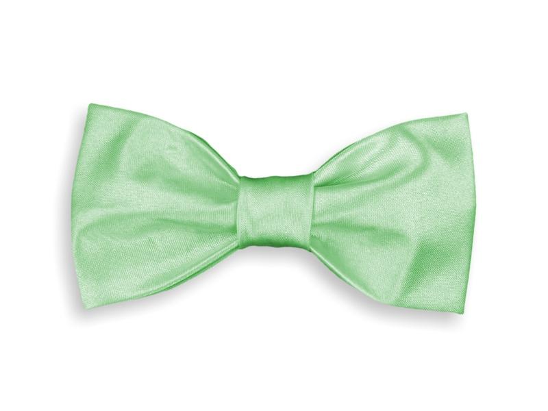 Motýlek dětský - světle zelený