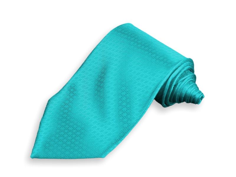 Kravata - tyrkysová