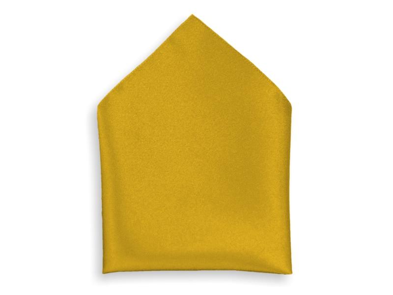 Kapesník společenský - zlatý