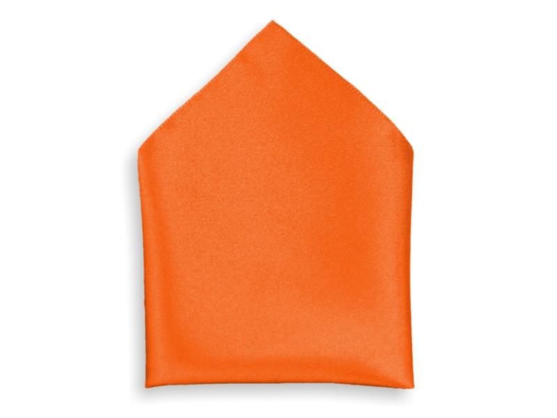 Kapesník společenský - oranžový