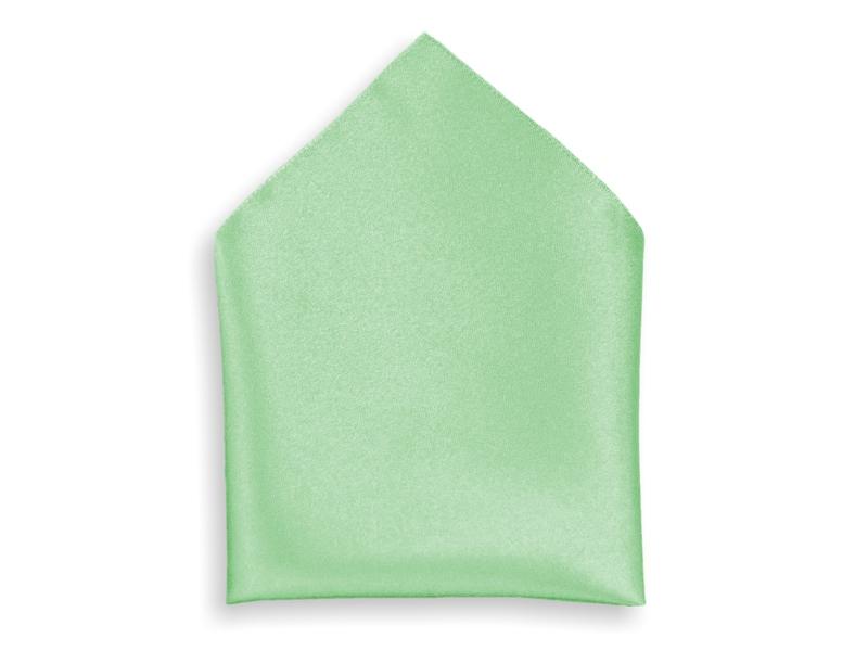 Kapesník společenský - světle zelený