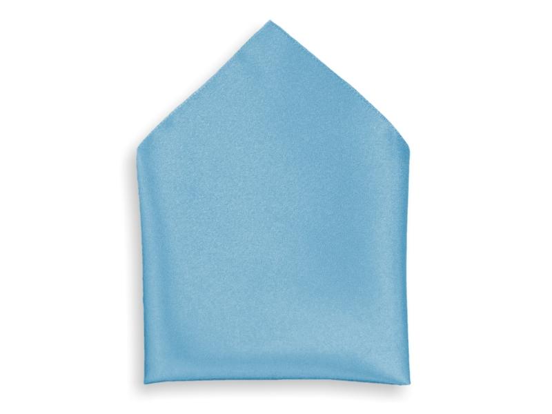 Kapesník společenský - světle modrý