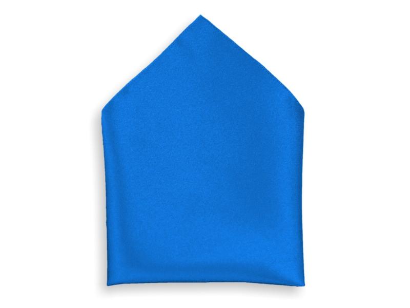 Kapesník společenský - modrý