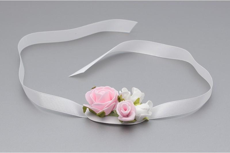 Květinový náramek na ruku VR 002