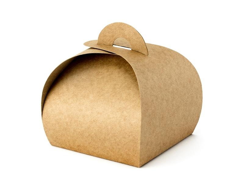 Krabička na mandličky Kraft 10 ks