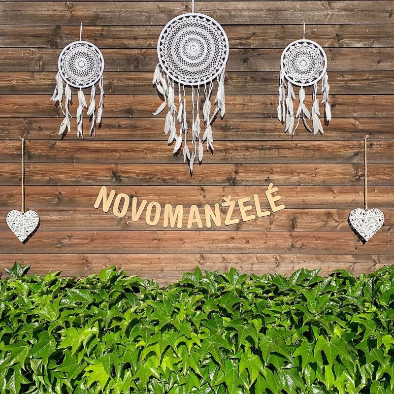Svatební girlanda - NOVOMANŽELÉ - GR6001-25