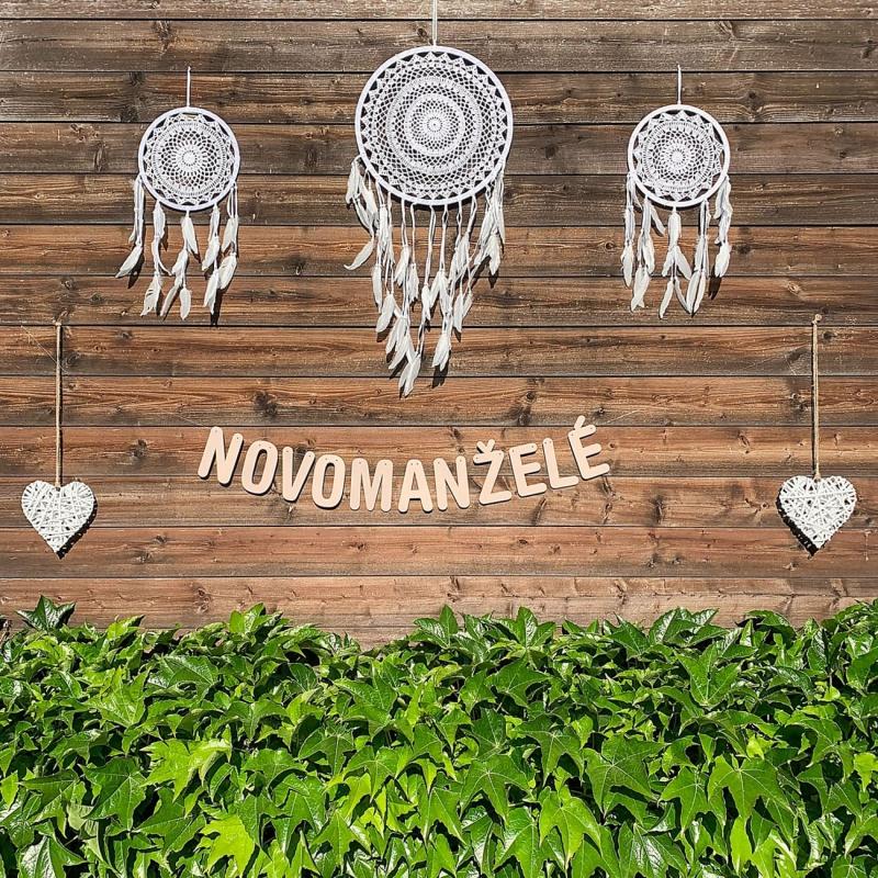 Svatební girlanda - NOVOMANŽELÉ - GR6001-28