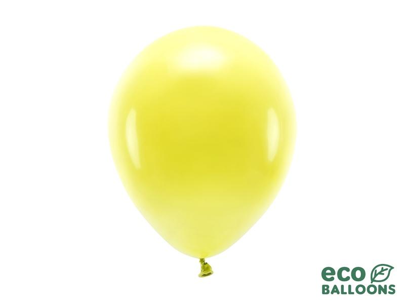 Metalický balónek - žlutá