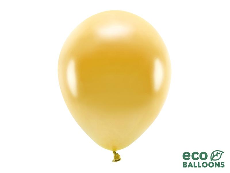 Metalický balónek - zlatá