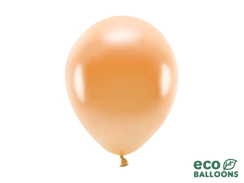Metalický balónek - oranžová