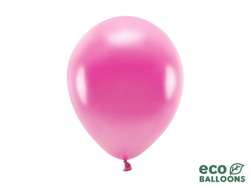 Metalický balónek - fuchsiová