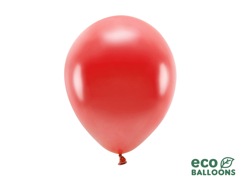 Metalický balónek - červená