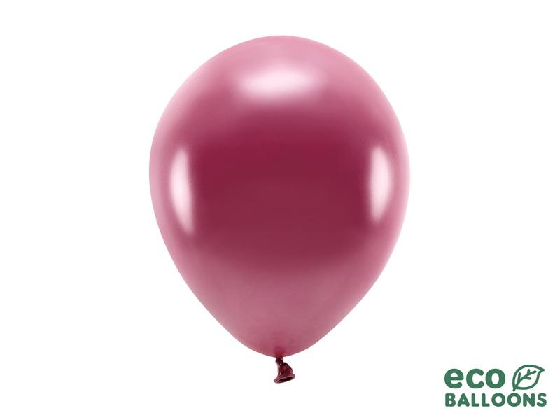 Metalický balónek - bordó