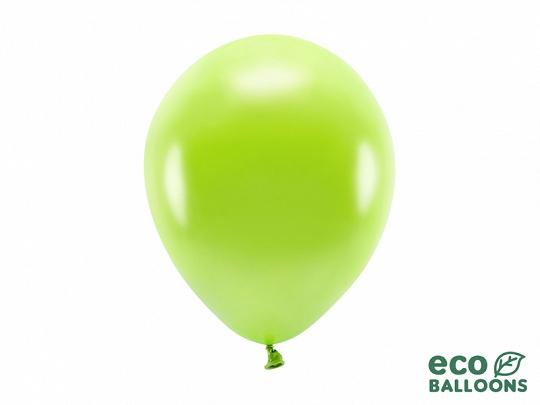 Metalický balónek - světle zelená