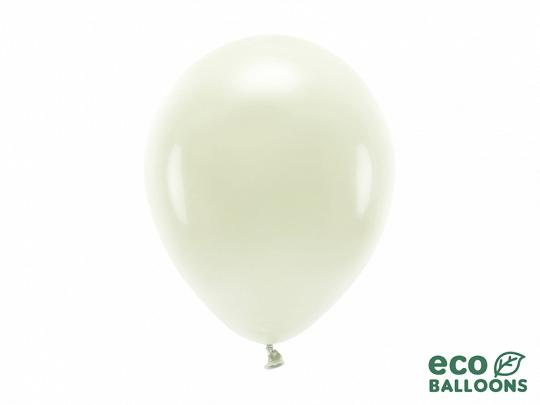 Metalický balónek - krémový
