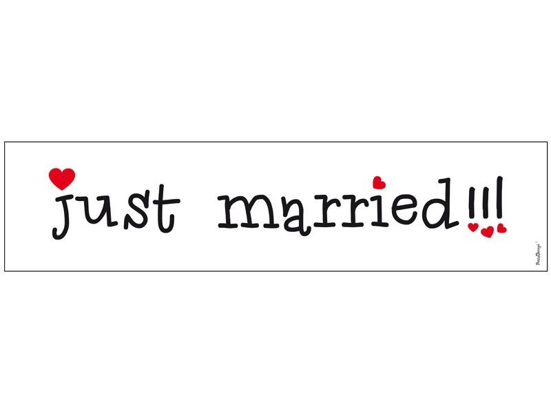 Svatební SPZ 4